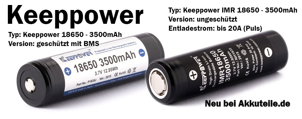 Keeppower 3500mAh