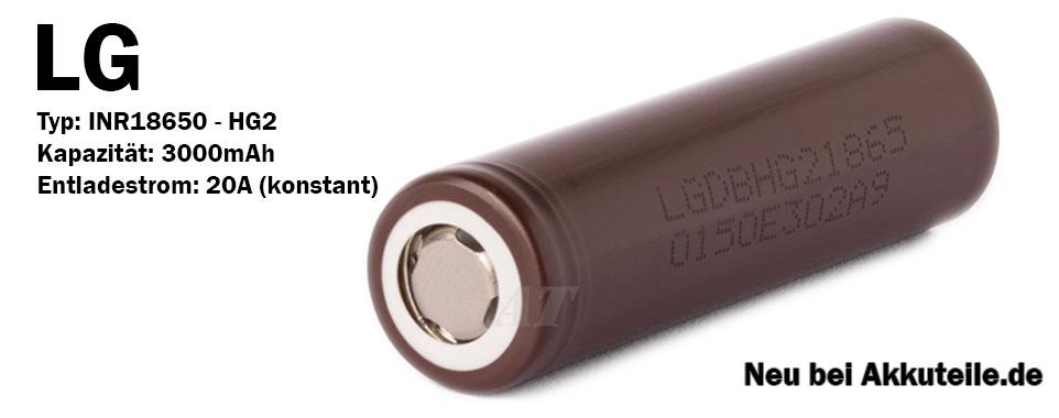 LG Chem 3000mAh