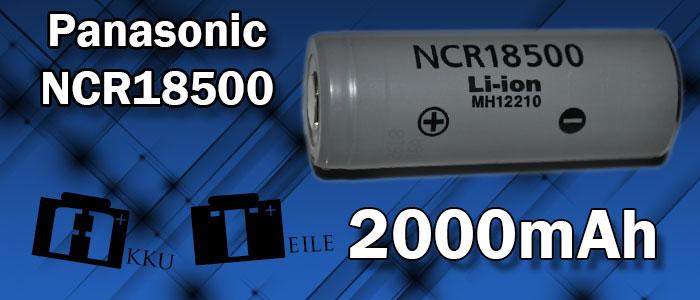 Panasonic ncr18500
