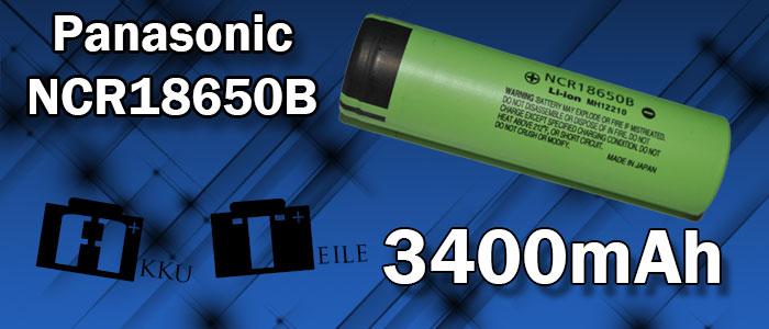 Panasonic NCR18650B