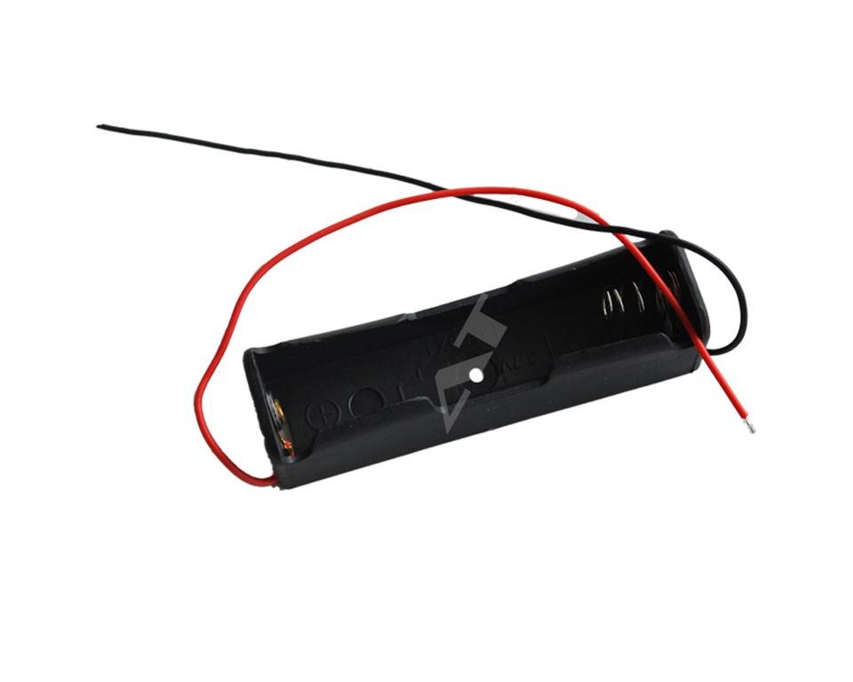 batteriehalter f r 1x 18650 zelle mit anschluss zubeh r akku und batteriehalter 18650. Black Bedroom Furniture Sets. Home Design Ideas